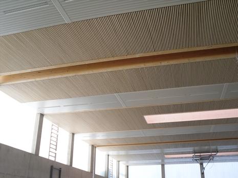 sporthalle evangelisches firstwaldgymnasium m ssingen tragwerk. Black Bedroom Furniture Sets. Home Design Ideas